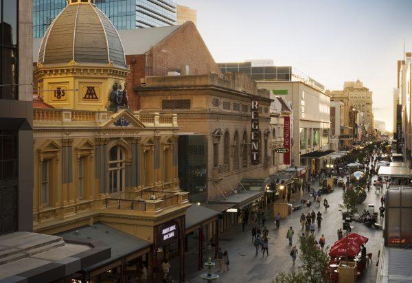 Rundle Mall - Adelaide International School