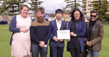 Adelaide International School ELICOS STudents