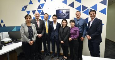 Partnership signing between Adelaide International School and Hangzhou